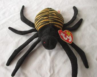 Vintage 1996 Beanie Baby Spinner the Spider