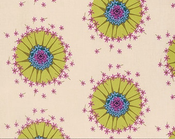 Mod Corsage by Anna Maria Horner for Free Spirit - Centered - Lilac - 1/2 yard Cotton Quilt Fabric 916
