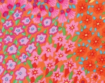 Kaffe Fassett for Rowan Westminster Fibers - Persian Graden - Orange -  FQ - Fat Quarter - Cotton Quilt Fabric 1016