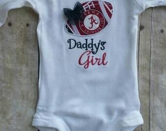 Alabama Inspired Daddy's Girl Shirt or bodysuit