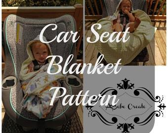 Car Seat Blanket Pattern
