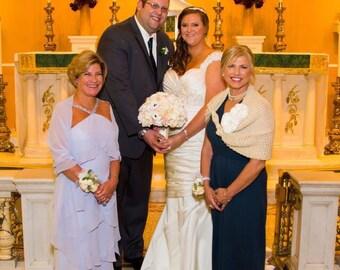 Wedding shawl, bridal shawl, wedding cape, bridal cape, winter wedding shawl,  bridal accessories, wedding accessories, knitted shawl,