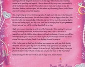 Personalized letter from Sugar Plum Fairy  - Personalized Ballet Gifts - Sugar Plum Fairy