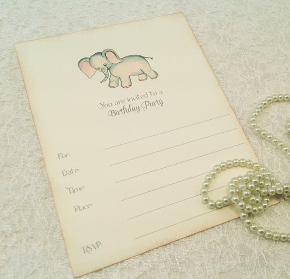 Fill In Blank Birthday Party Invitations-Party Invites