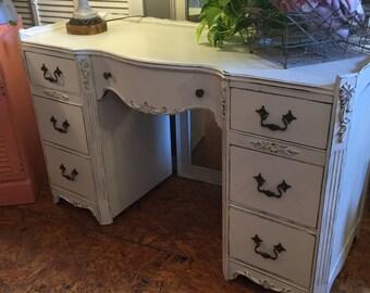 "The ""Lillian"" Vintage Vanity/Desk"