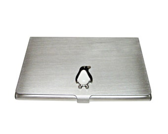 Penguin Business Card Holder