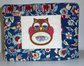 Owl Toaster Cover, Two Slice Toaster Cover, Jabobean Flower Toaster Cover, Blue Toaster Cover
