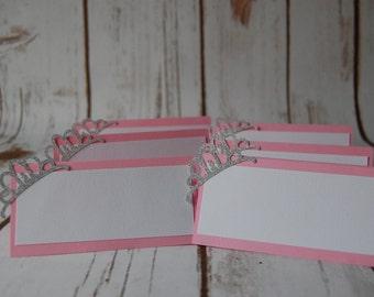 Princess Name Tags (6pc)