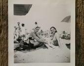 Original Vintage Photograph Beauty in the Sun