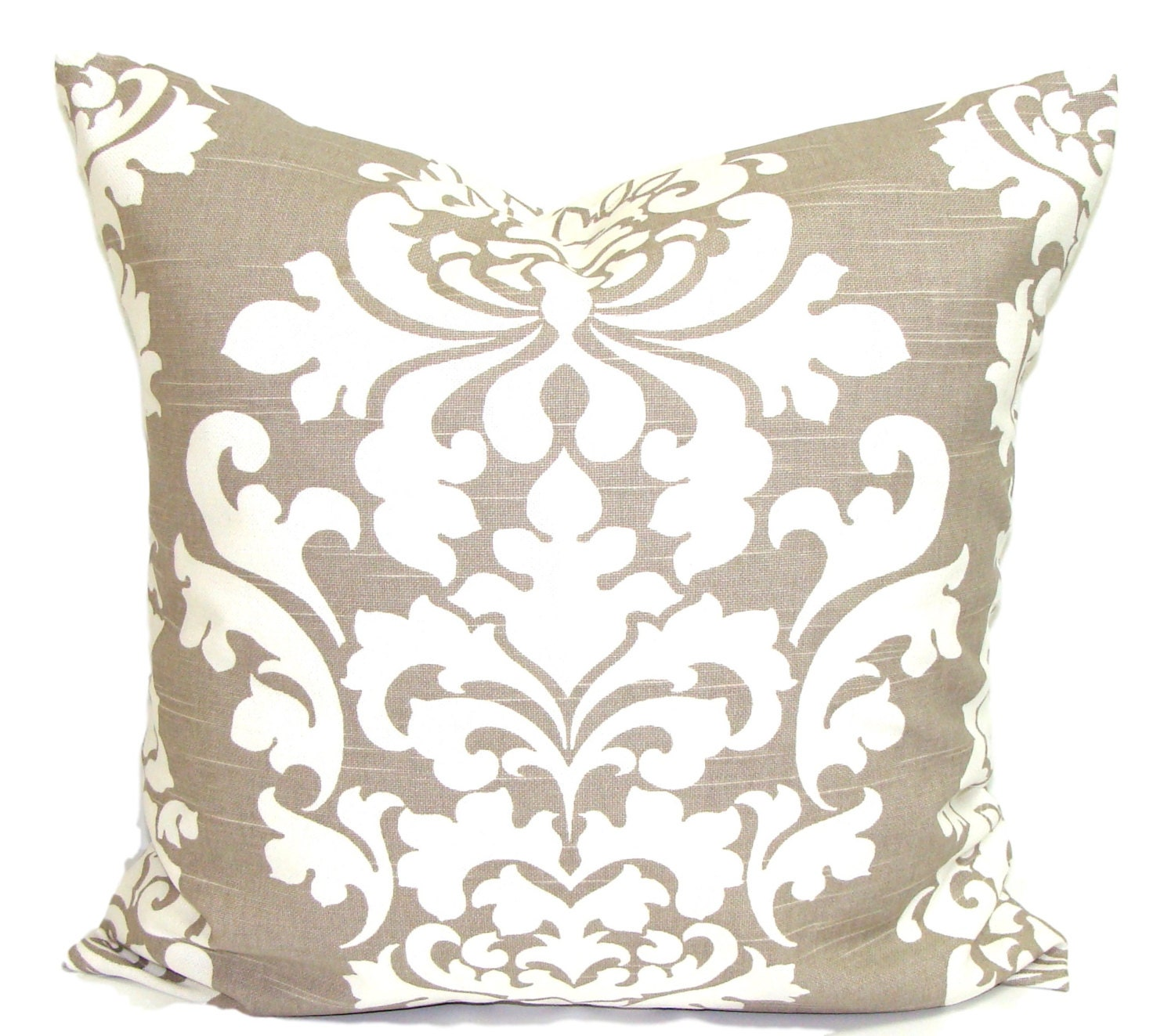Throw Pillows Taupe : Taupe PILLOWS Neutral Pillow Cover Decorative Pillow Throw