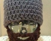 Toddler Grey Beard Hat