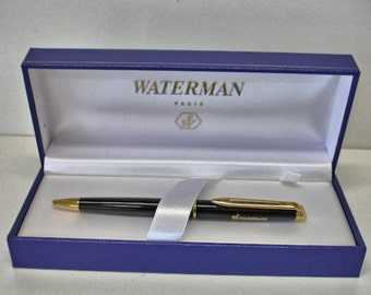 Vintage Waterman Pen with Case Mint in case Waterman Pairs