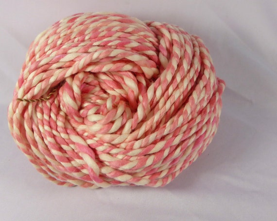 Knitting Yarn Bdo : Strawberry mega bulky optim and merino ply hand spun
