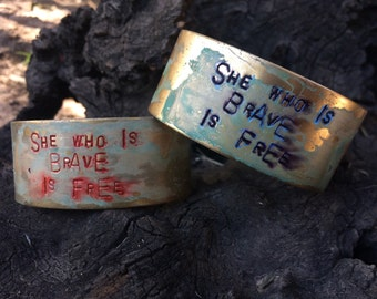 She who is Brave Cuff
