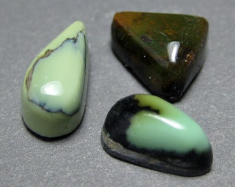 Damele Mine Natural Turquoise Cabochon from Nevada, 3.88 cttw.