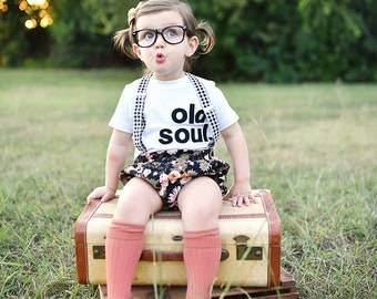 "Swanky Shank Girl or Boy ""Merry Old Soul"" Short sleeved Tee or BS"