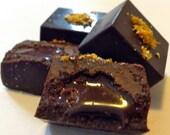 18 piece Assortment Handmade Organic Raw Chocolates