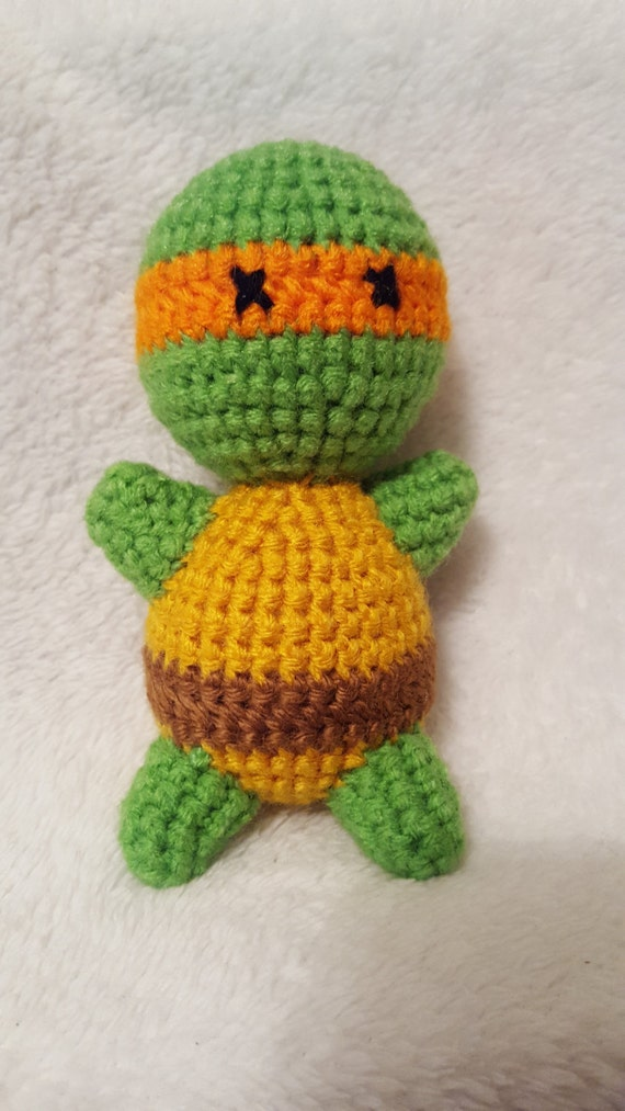 Amigurumi Ninja Turtle : Amigurumi Michelangelo Teenage Mutant Ninja Turtles