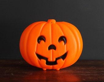 Vintage Halloween Blow Jack-O-Lantern Light Up Pumpkin Decoration Illuminated Jack-O-Lite