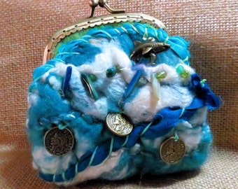 Treasures Felted Coin purse