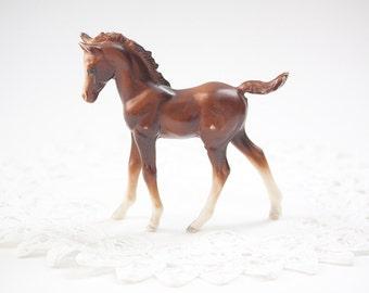 Adorable Vintage Horse Figurine, Toy Plastic Horse