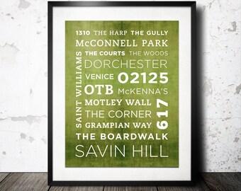 Savin Hill Poster - 11x14