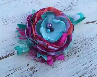 Baby Girl Headband- Matilda Jane Headband- Baby Headbands-Newborn Headband- flower headband
