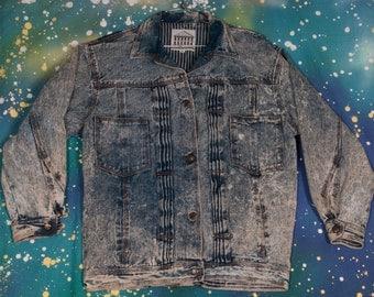 1980's JOU JOU Denim Jacket Size M