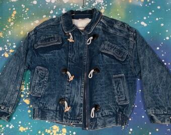 GITANO  Denim Jacket Coat Size M