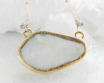 opal necklace, boulder opal, fire opal, druzy necklace, gold necklace, satellite chain, raw diamond, diamond necklace, druzy diamond