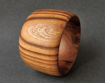 Wooden bangle Russian olive EXOTIC