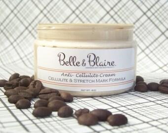 Best Seller- Anti-Cellulite Cream- Cellulite & Stretch Mark Formula- Plant Based- Vegan- 4oz