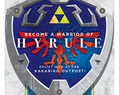 Become a Hyrule Warrior - Hylian Shield
