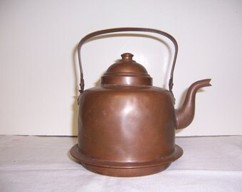 COPPER TEAPOT or KETTLE