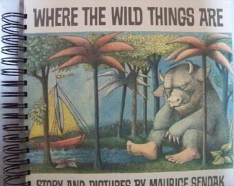 Where the Wild Things Are Maurice Sendak blank book journal diary planner