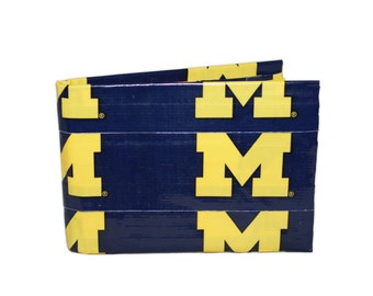 Michiagn Wolverines Duct Tape Wallet