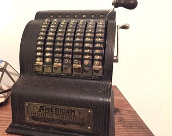 American Can Company American Adding Machine - Early 1900's
