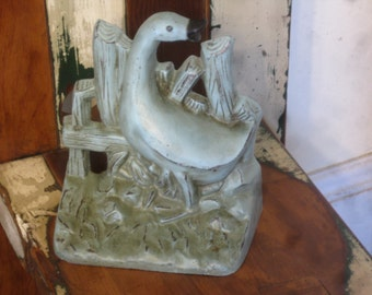 Cast iron Doorstop , Goose Doorstop , Duck Doorstop