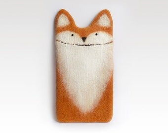 iPad Pro 9,7 inch Fox case, case for new iPad Pro, felt fox, felted case, eco-friendly, handmade gift