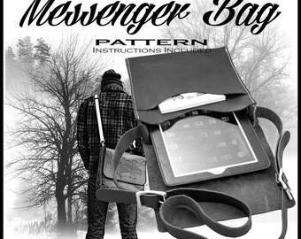 Messenger Bag Pattern  #144-2200