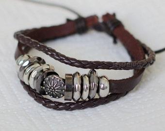 295 Men bracelet Women bracelet Sun bracelet Rings bracelet Leather bracelet Braided bracelet Woven bracelet Fashion bracelet