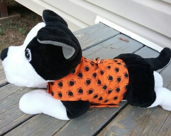 Halloween harness vest for small boy dog