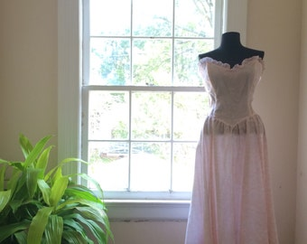 Gunne Sax by Jessica McClintock | formal prom atyle dress | late70s/early 80s