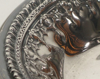 Antique Reed & Barton Riviera Silver Holloware Bowl, Candy Dish, Tea Party Bowl