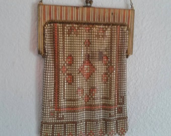 Antique Mesh Bag Whiting and Davis