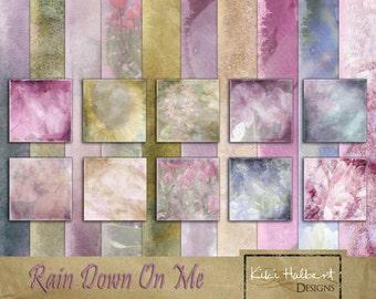 Rain Down on Me Digital Papers