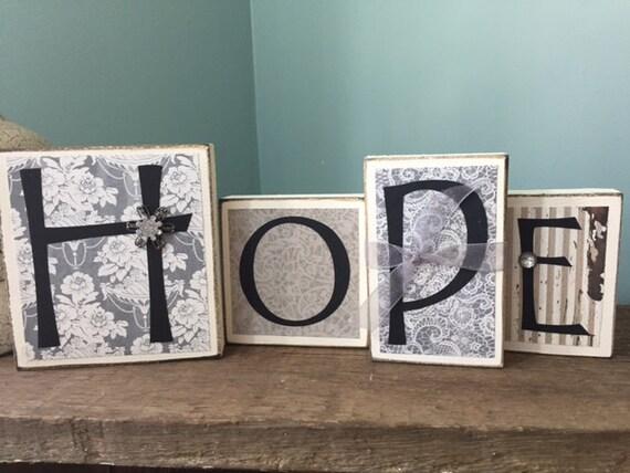 items similar to wood block letters sign homedecor wood items similar to fun home decor wood word blocks love