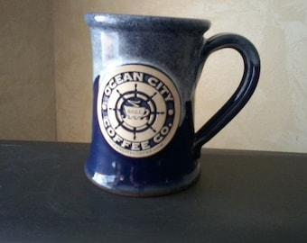 Ocean City Pottery Mug