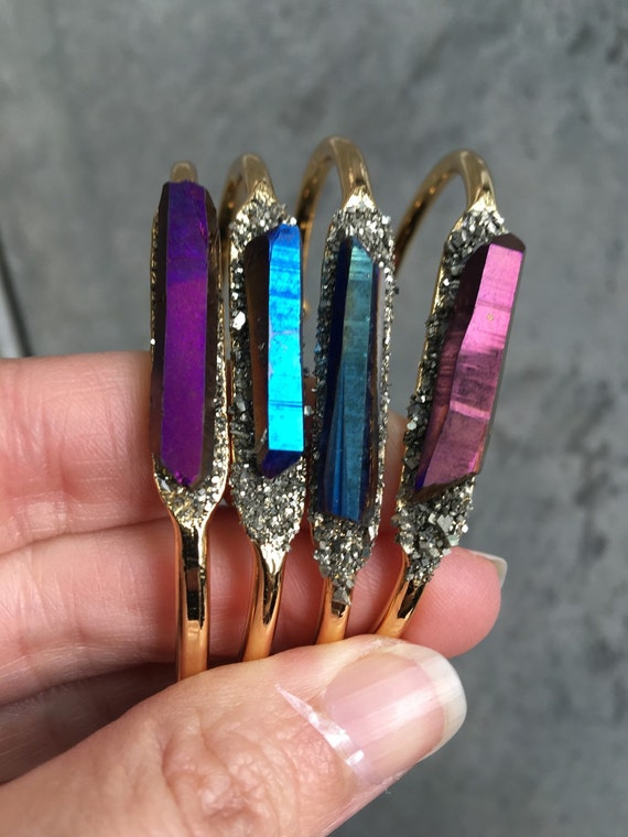 Auta Quartz Druzy Bracelets