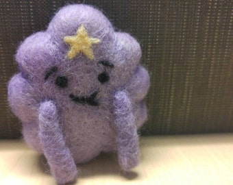 Needlefelted Lumpy Space Princess from Adventure Time * Plush Toy * Stuffie *